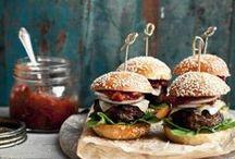 sandwich + burger