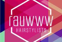 Rauwww by Esther Janssen Schreurs & Didier Deroye / Logo Rauwww