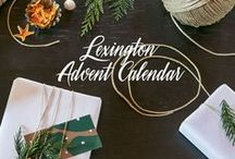 LEXINGTON ADVENT CALENDAR / The Lexington Advent Calendar starts December 1st 2017, and will provide you with one gift tip a day leading up to Christmas. Find the daily gift ideas here: http://bit.ly/2jzSj3s