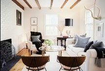 { house to home } / Vintage modern home interiors that inspire