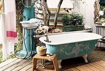 { bathrooms to soak up } / unique and relaxing bathroom designs