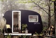 { glamping to travel in style } / Beautiful small spaces on wheels. Glamorous camping inspirations, and stylish travel trailers.