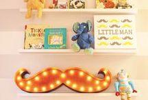 { baby nursery to nurture } / Stylish baby nursery's