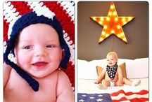 { 4th of July to celebrate } / Red, white, and blue - Fourth of July designs