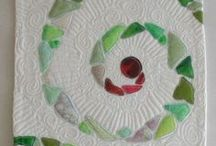 Interesting Quilts / A board full of fascinating quilts of intriguing designs.