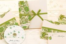 wedding stationery / Wedding stationery (and more) using our decorative italian papers...
