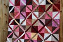 Scrap Quilts / Have scraps? Take a look at these pins for ways to use them.