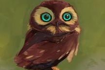Owl / <3