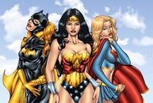 COMICS GIRLS / Women in the comics