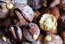 donuts / Deep fried dough with FILLING? Yes please. Donuts on infinite scroll.