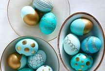 { easter } / Easter decorations and celebrations