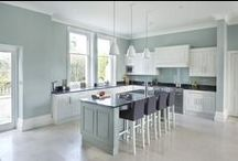 Gorgeous Victorian Home / This beautiful Victorian house has been completely overhauled including a brand new handmade kitchen from Rencraft.