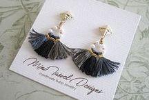 Gorgeous Boho Jewelry / Handmade boho bohemian hippie gypsy jewelry that we love