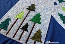 Christmas Quilts / Christmas themed quilted items