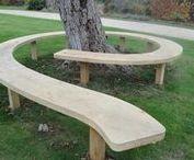 Garden bench ´¯`✿•
