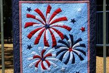 Patriotic Quilts / Quilts in my favorite - Red, White, and Blue!