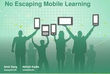 Mobile Learning / Mobile Learning, also called M-Learning, relates to learning that takes place using mobile technologies while not at a fixed location. Mobile learning is supposed to facilitate, enhance and extend the reach of the teaching and learning process and support performance at work.   Mobile Learning on Click4it: http://click4it.org/index.php/Mobile_Learning / by Click4it