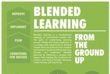 Blended Learning / Blended Learning is an integrated learning approach that combines traditional learning methods and media with modern e-Learning/computer-mediated tools. It seeks to integrate these methods and tools to enhance learning outcomes. A primary consideration is how to best bring together the social aspects of face-to-face communication with the flexibility and efficiency of e-Learning.  Blended Learning on Click4it: http://click4it.org/index.php/Blended_Learning / by Click4it