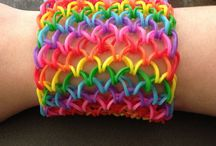 Rainbow Loom Bracelets / This board is for rainbow loom bracelets  / by Gillian W.