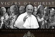 PopeFrancis I / Our Current Roman Catholic Pope from the AMERICAS, CARDINAL JORGE MARIO BERGOGLIO~BECAME POPE FRANCIS NAMED AFTER SAINT FRANCIS OF ASSISI / by Maura [O'Brien]Cole