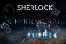 Fandoms, Fandoms Everywhere / Fandoms ranging from Doctor Who, Sherlock, and Supernatural to Marvel, Disney, and DC Comics...and many more. Fave shows are Leverage, Sherlock, and Doctor Who. / by Kim Dickey