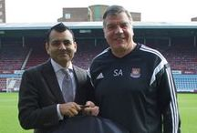 West Ham United / We are proud to be official club tailors to West Ham United FC.