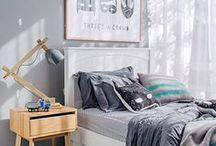 BOYS | bedroom / Pics of modern, edgy or uber cool boys bedroom ideas. Board includes - bedroom ideas, colour, children's bedding, children's decor, children's furniture, childboys room decor ideas, inspiration, cool bedroom ideas for boys, decor for boys, diy ideas and more!