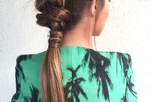 HAIR / Cool hair styles and ideas - braids, buns, fishtails etc.