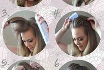Cabelo / Penteados simples e fáceis para inspirar