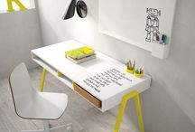 INTERIORS | kids study / Fave fins for creating a cool fun study space for little people
