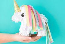 UNICORN | party ideas / Unicorn birthday party ideas