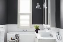 BATHROOM | crush / Bathroom trends, remodels and home decorating ideas - free standing baths, showers, tile trends and more.