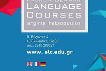 English Language Courses Argiris Hatzopoulos / School of English Language  / Thessaloniki / Greece  http://www.elc.edu.gr