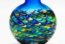 GLASS ART / So many pretty glass figures shapes. / by Joann McRoy