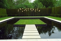 Water Features / Garden ponds, rills and water features that inspire. / by John Howard