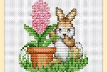 Easter cross stitch, embroidery / Feel free to repin as many as you like... / by Goranka