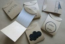 papiers d'emballage, boîtes, enveloppes