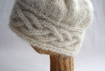 knit hats and headbands