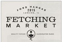 Fetching Market at the Ford Hangar - Lansing, IL / Quality Vintage & Handcrafted Wares, local artisans, food trucks, live music, local fare, gourmet delicacies, great cocktails, great cause! All in a beautiful historic atmosphere!