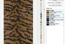 beading patterns / moje projekty
