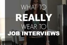 Dress for Success / This board has women's fashion tips and advice on different outfits you can wear to work or your interview. Follow this board for professional and stylish outfit recommendations.