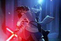 Star Wars / Kylo Ren. Kylo Ren. Kylo Ren and his granpa.