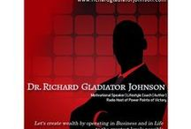 "2016 ""Power Points of Victory"" on Survival Radio Christian Network (Podcasts) / Podcasts of Dr. Richard Gladiator Johnson on the Survival Radio Christian Network (broadcast live Friday nights 10pm Eastern/Sat @ 0200 GMT Summer/0300 GMT Winter). Listen live by phone @347-237-4648 / by Jedi Knight Improvements,Inc"