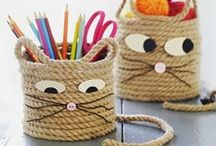 Animal crafts for kids / Animal themed craft ideas for kis