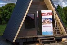 """Kitul casei tale de vacanta"""" / casuta vacanta din lemn  , ferestre velux ,  small wood house"""