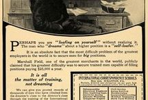 Our Vintage Adverts & History / Founded in 1889, we're the world's oldest distance learning organisation. Here's a peek into our history!