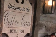 """Coffee Cabin / The Coffee Cabin although """"A Little Off The Beaten Path"""" is well worth the Journey! It is an extension of the H. Souder and Sons General Store and offers a variety of Hot or Iced Cappuccinos and Chais, Natural Smoothies, Gatoraide Icees, and of course our Fresh Roasted Grabill Coffees and Schwanns Ice Cream Treats! It has a beautiful Garden Room and an amazing Monarch and Herb garden! A step back in time, the atmosphere invites you to come in and visit and just simply be."""