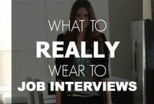 What to Wear / Suggested outfits to fit any workplace situation.