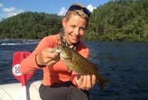 Lady Anglers / Who says ladies don't fish!? We sure do! And we can hook the biggest catch of the day!
