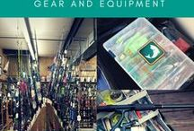 Fishing tips and tricks: Gear and equipment / Learn more about fishing equipment by checking the blogs on this board